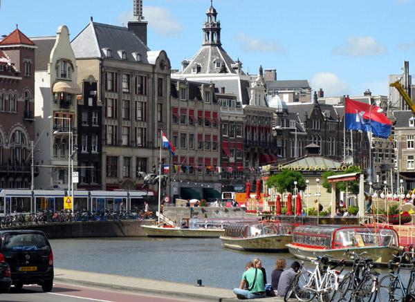 Innenstadt Amsterdam. Foto: Emes2k