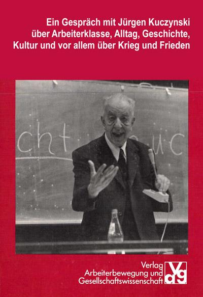 Das Foto zeigt das Buch mit Jürgen Kuczynski.